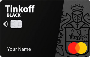 карта c кэшбэком tinkoff black