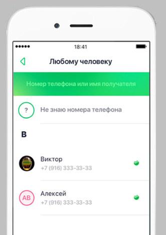 Перевод Сбербанк другому человеку без карты